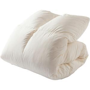 羽毛布団 掛け布団 掛布団 ホワイトグースダウン93% 1.2kg セミダブルロング PAA19RP (D)