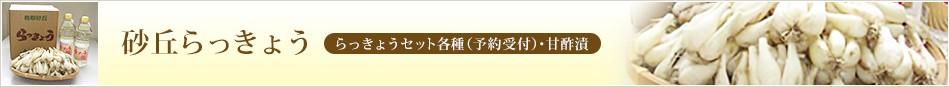 砂丘らっきょう  らっきょうセット各種(予約受付)・甘酢漬