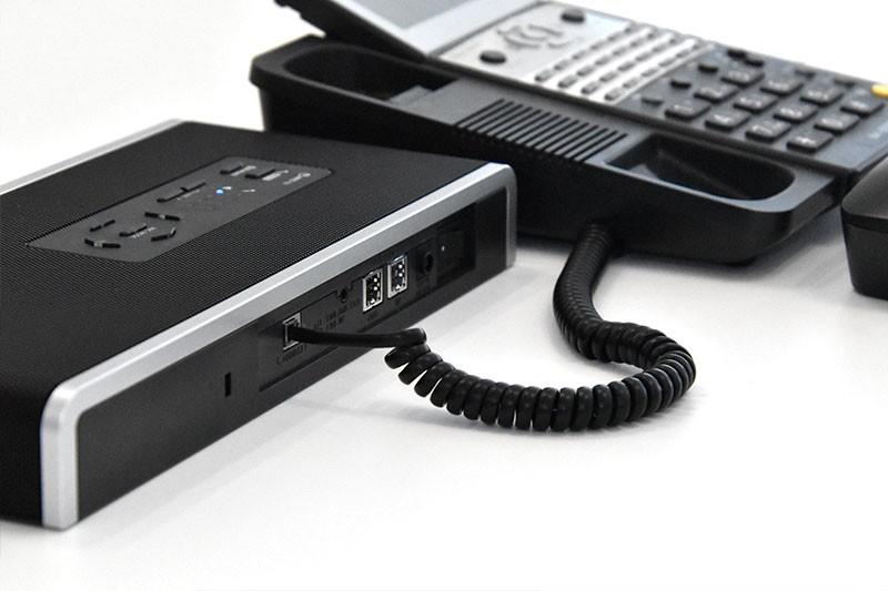 固定電話機と接続
