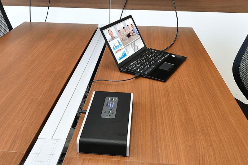 パソコンと接続