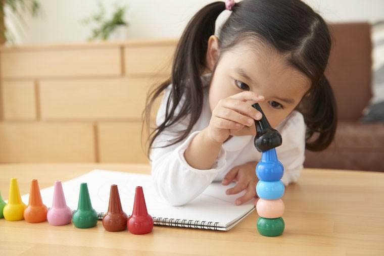 (aozora)ベビーコロール  ベーシック クレヨン 12色セット (baby color basic assort 12c)