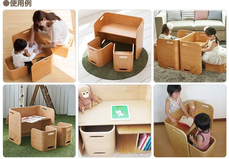colocolo chair&deskの使い方 その1 DESK SET 使用例