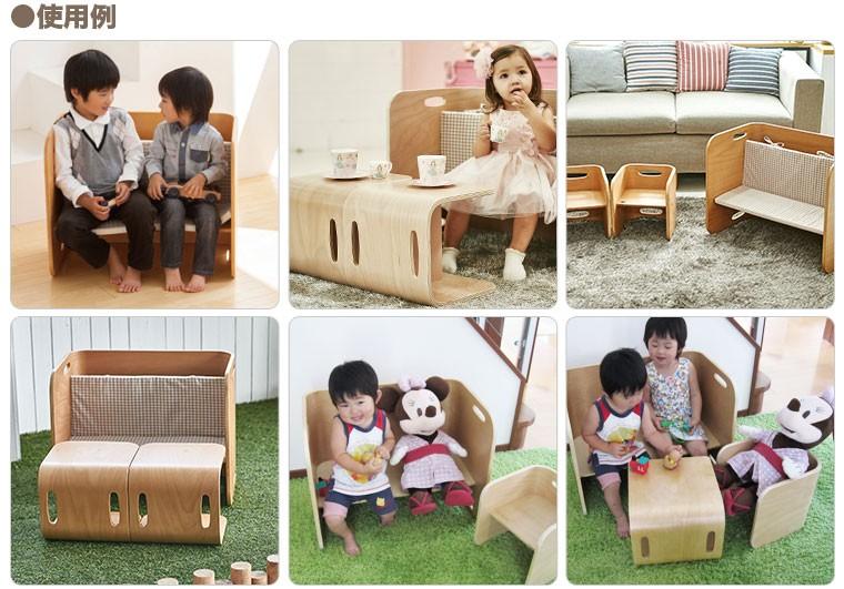 colocolo chair&deskの使い方 その2 BENCH SET 使用例