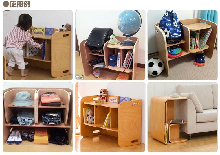 colocolo chair&deskの使い方 その4 SHELF SET 使用例