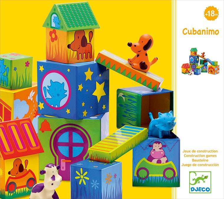 DJECO ジェコ キューバニモ DJ09102 知育玩具