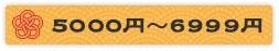 5000円〜6999円