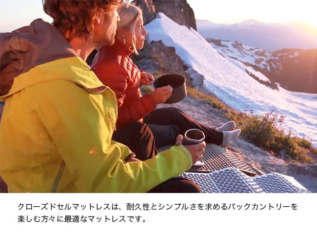 Therm-A-Rest サーマレスト リッジレスト ソーライト スモール(シルバー/セージ)マットレス マット クローズドセルマット ロール収納 キャンプ アウトドア テント泊 登山 トレッキング 3シーズン適応 バックカントリーを楽しむ人に最適