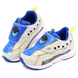 プラレール 靴 スニーカー はやぶさ かがやき キッズ スリッポン|superfoot|10