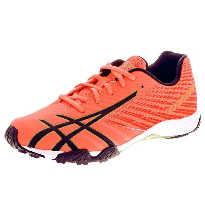 アシックス レーザービーム ジュニア キッズ スニーカー 紐靴 ひも asics 1154A108|superfoot|22