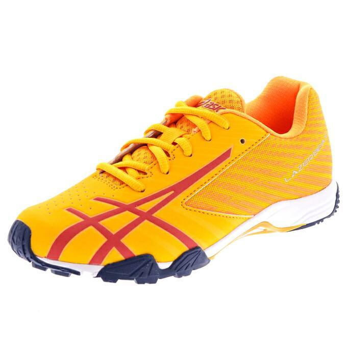 アシックス レーザービーム ジュニア キッズ スニーカー 紐靴 ひも asics 1154A108|superfoot|23