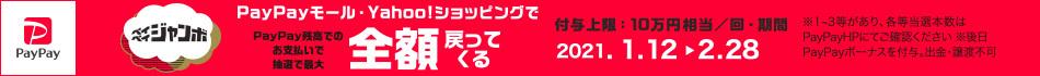 [1/12-2/28開催]ペイペイジャンボ オンラインキャンペーン