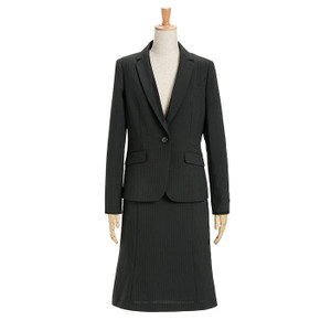 スーツ レディース スカートスーツ ビジネス テーラード タイト フレア ロング タック ストレッチ 女性 面接 就活 30代 40代 大きいサイズ 小さいサイズ 洗える|sutekitaiken|23