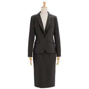 スーツ レディース スカートスーツ ビジネス テーラード タイト フレア ロング タック ストレッチ 女性 面接 就活 30代 40代 大きいサイズ 小さいサイズ 洗える|sutekitaiken|32