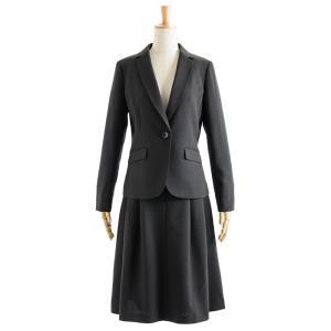 スーツ レディース スカートスーツ ビジネス テーラード タイト フレア ロング タック ストレッチ 女性 面接 就活 30代 40代 大きいサイズ 小さいサイズ 洗える|sutekitaiken|37