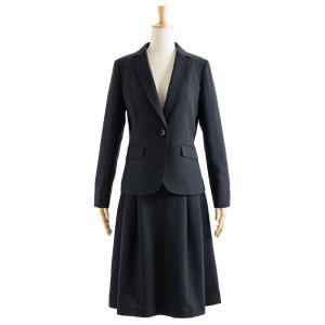 スーツ レディース スカートスーツ ビジネス テーラード タイト フレア ロング タック ストレッチ 女性 面接 就活 30代 40代 大きいサイズ 小さいサイズ 洗える|sutekitaiken|38