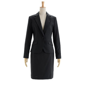 スーツ レディース スカートスーツ 就活スーツ リクルートスーツ 就活 テーラード 女性 ジャケット 1ボタン 2ボタン 膝上 膝下 洗える 半裏地|sutekitaiken|23