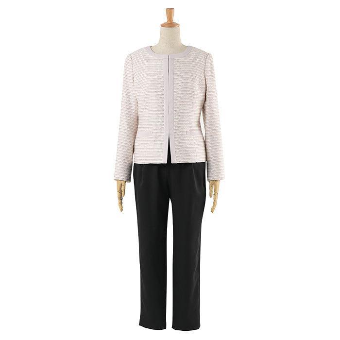スーツ 卒業式 レディース 入学式 服装 ママ パンツスーツ 30代 40代 セレモニースーツ ワンピース 3点セット 大きいサイズ セットアップ|sutekitaiken|22