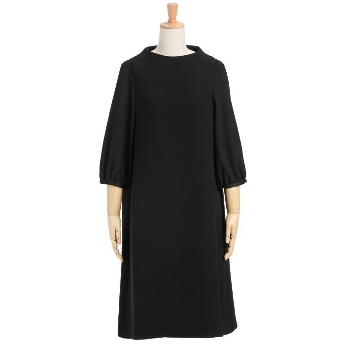 喪服 レディース 洗える ワンピース ブラック フォーマル 礼服 日本製生地 サマー 七分袖 長袖 20代 30代 40代 50代 大きいサイズ 小さいサイズ|sutekitaiken|23