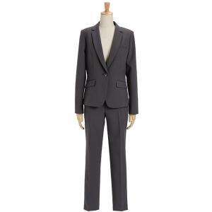 スーツ レディース パンツスーツ ビジネス リクルートスーツ OL テーラード フルレングス丈 ストレッチ 女性 面接 大きいサイズ 小さいサイズ|sutekitaiken|26