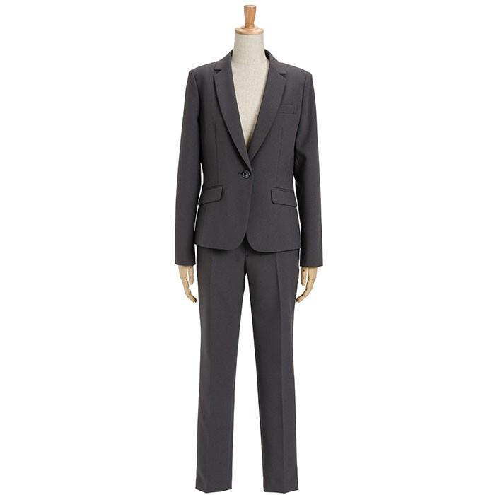 スーツ レディース パンツスーツ ビジネス リクルート ビジネス OL テーラード フルレングス丈 ストレッチ 女性 面接 大きいサイズ 小さいサイズ sutekitaiken 25