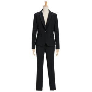 スーツ レディース パンツスーツ ビジネス リクルートスーツ OL テーラード フルレングス丈 ストレッチ 女性 面接 大きいサイズ 小さいサイズ|sutekitaiken|22