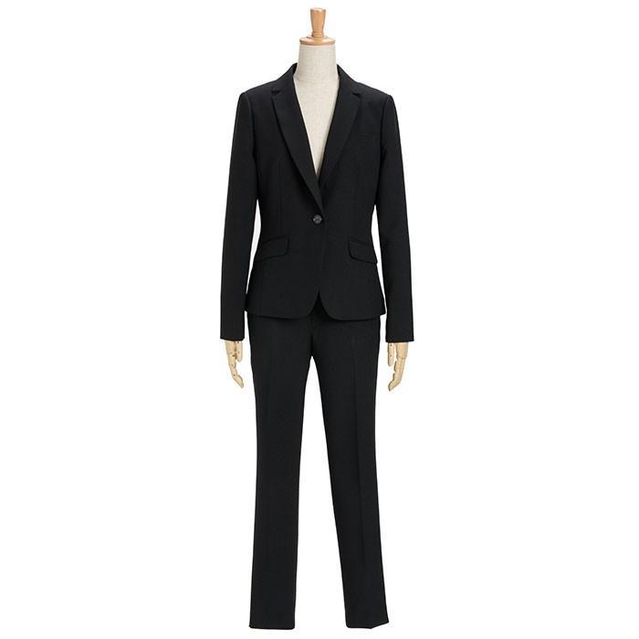 スーツ レディース パンツスーツ ビジネス リクルート ビジネス OL テーラード フルレングス丈 ストレッチ 女性 面接 大きいサイズ 小さいサイズ sutekitaiken 21