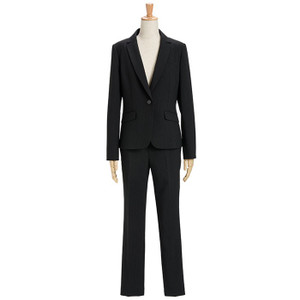 スーツ レディース パンツスーツ ビジネス リクルートスーツ OL テーラード フルレングス丈 ストレッチ 女性 面接 大きいサイズ 小さいサイズ|sutekitaiken|23