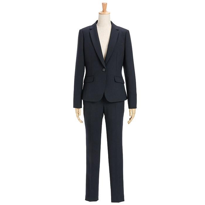 スーツ レディース パンツスーツ ビジネス リクルート ビジネス OL テーラード フルレングス丈 ストレッチ 女性 面接 大きいサイズ 小さいサイズ sutekitaiken 23