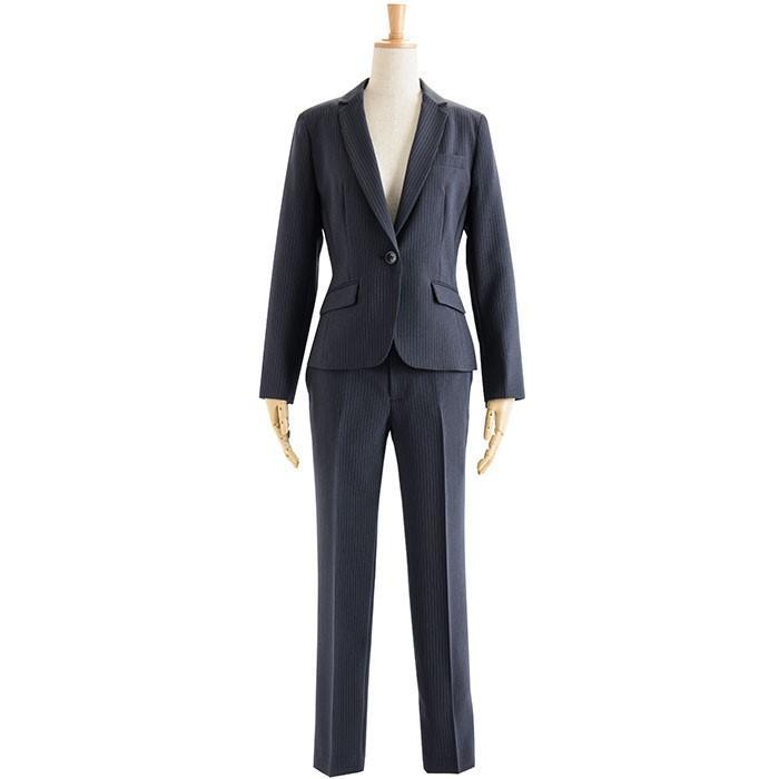 スーツ レディース パンツスーツ ビジネス リクルート ビジネス OL テーラード フルレングス丈 ストレッチ 女性 面接 大きいサイズ 小さいサイズ sutekitaiken 24