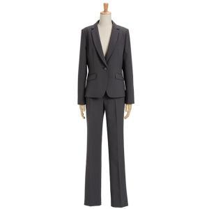 スーツ レディース パンツスーツ ビジネス リクルートスーツ OL テーラード フルレングス丈 ストレッチ 女性 面接 大きいサイズ 小さいサイズ|sutekitaiken|31