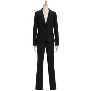 スーツ レディース パンツスーツ ビジネス リクルートスーツ OL テーラード フルレングス丈 ストレッチ 女性 面接 大きいサイズ 小さいサイズ|sutekitaiken|27