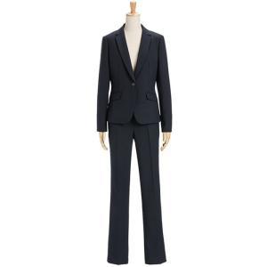 スーツ レディース パンツスーツ ビジネス リクルートスーツ OL テーラード フルレングス丈 ストレッチ 女性 面接 大きいサイズ 小さいサイズ|sutekitaiken|29