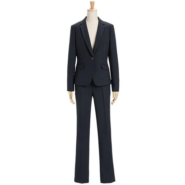 スーツ レディース パンツスーツ ビジネス リクルート ビジネス OL テーラード フルレングス丈 ストレッチ 女性 面接 大きいサイズ 小さいサイズ sutekitaiken 28