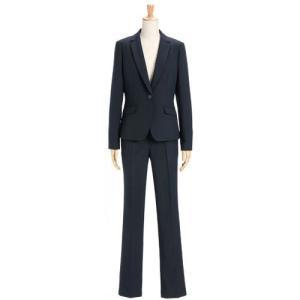 スーツ レディース パンツスーツ ビジネス リクルートスーツ OL テーラード フルレングス丈 ストレッチ 女性 面接 大きいサイズ 小さいサイズ|sutekitaiken|30