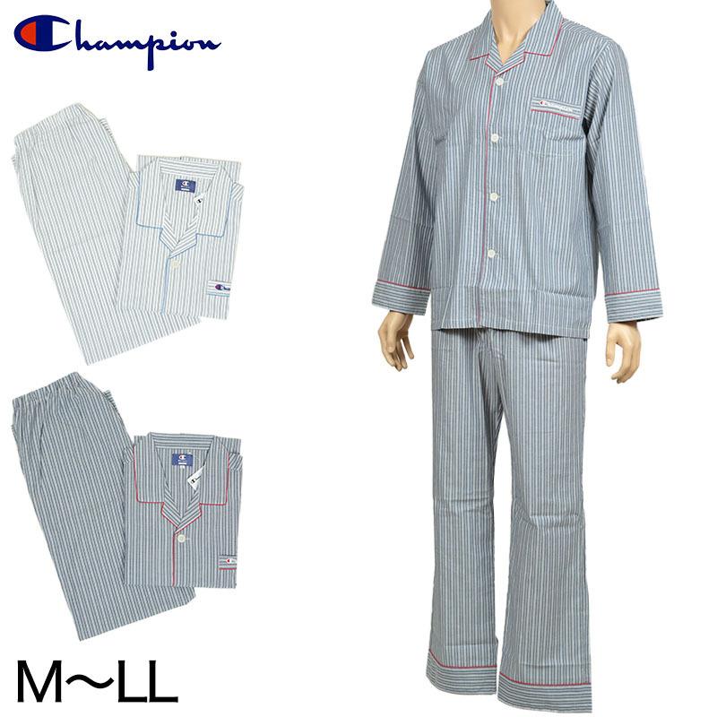チャンピオン メンズ 綿100%パジャマ