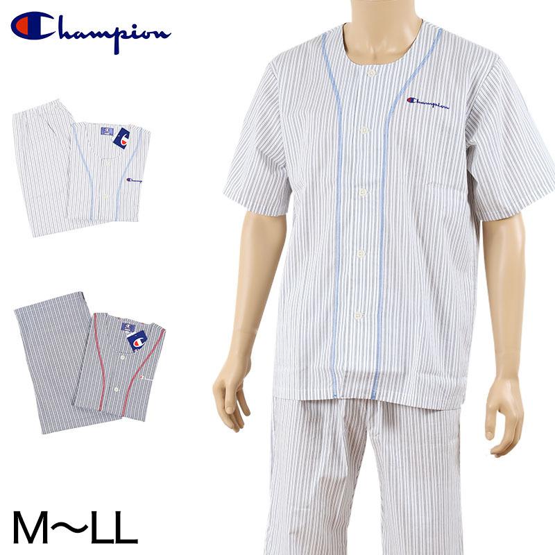 チャンピオン メンズ 綿100% 半袖7分丈パジャマ