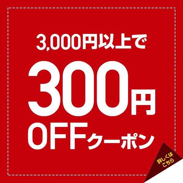 全商品対象!3,000円以上購入で300円OFFクーポンプレゼント☆