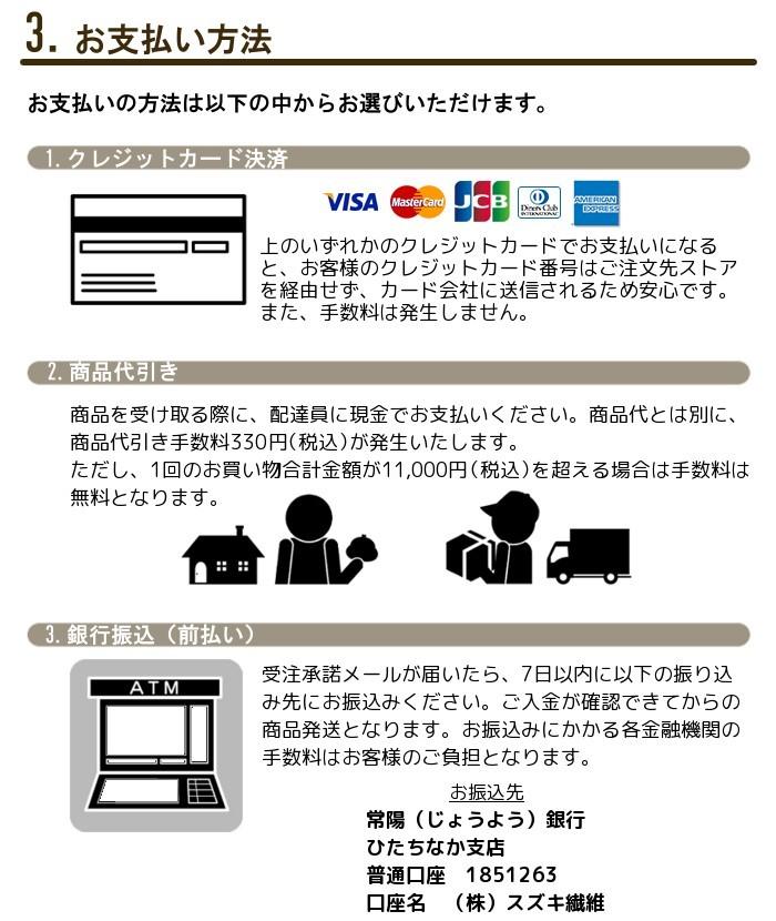 3.お支払い方法