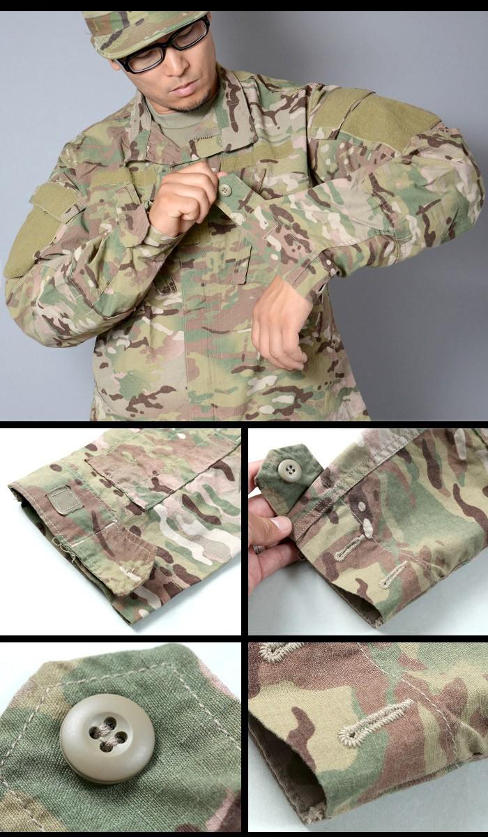 US Army Multicam Combat Uniform ACU Team Soldier coat Jacke Jacket Medium Regula Bekleidung & Schutzausrüstung