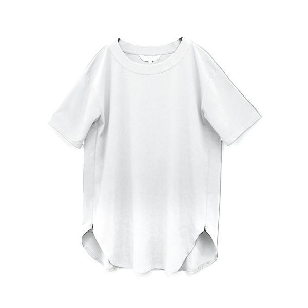 [3点で9800円]マタニティ 服 授乳 トップス Tシャツ ラウンドスリット BIGTEE カットソー 授乳服 体型カバー メール便可 春 夏 真夏[M便 6/6]|sweet-mommy|24