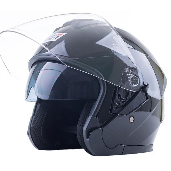 バイクヘルメット ジェット ヘルメット サングラス付き 軽量 Bike Helmet 四季通用 半帽 カッコいいヘルメット 防風防雨メット おしゃれなバイクヘルメット|sweetpeace|22