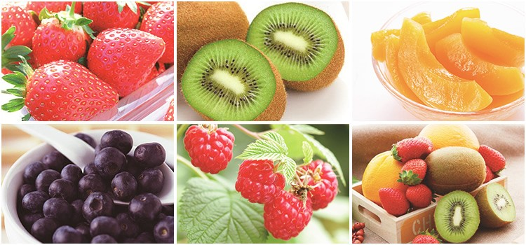 カラフルなフルーツをたっぷりと
