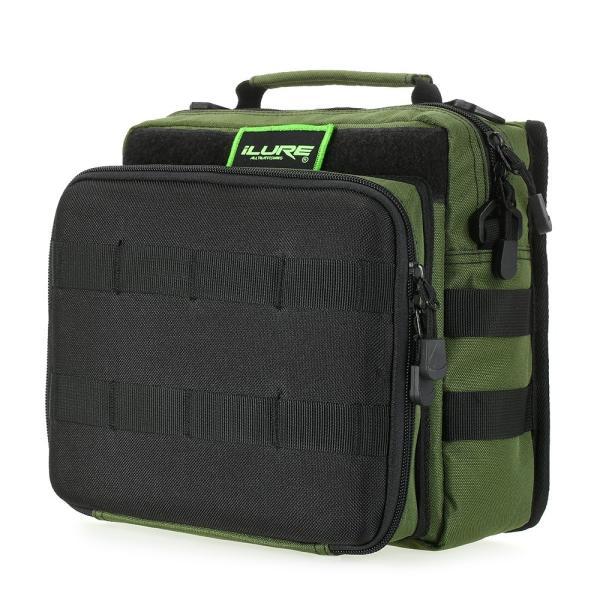 iLURE フィッシングタックルバッグ バックパック クロスボディー メッセンジャー スリングバッグ|synergy2|23