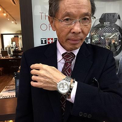 2015年1月 VOSTOK EUROPE(ボストーク・ヨーロッパ)/クロノグラフ/クォーツ/6S30-2255178B腕時計をお買い上げいただきました飯島 正信様
