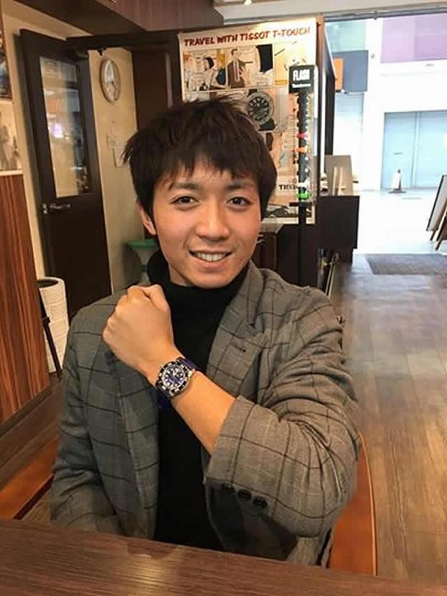 コヴァ腕時計をお買上げいただきました川崎様