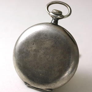 変化した銀の時計
