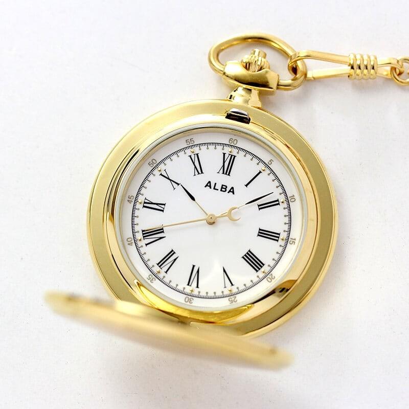 セイコーALBA懐中時計aqgk450