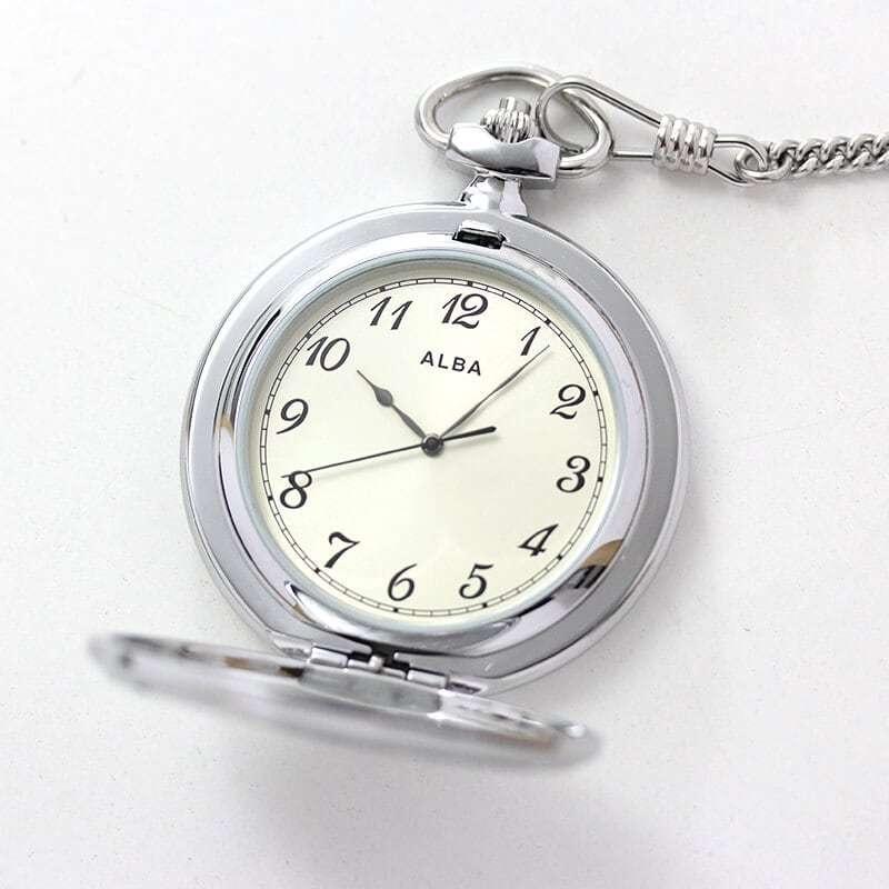 セイコーALBA懐中時計aqgk451