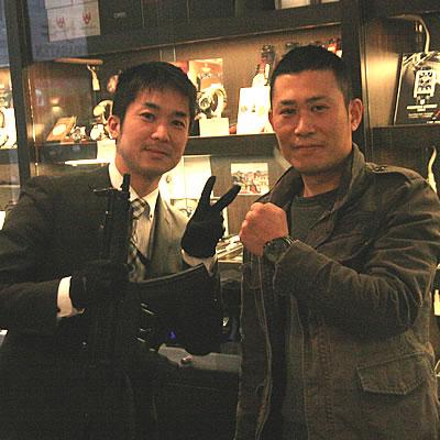 2012年12月MTMスペシャルオプス ファルコン ブラックオンブラック MTM-TI099BB腕時計をお買い上げいただきました笹木 大輔様