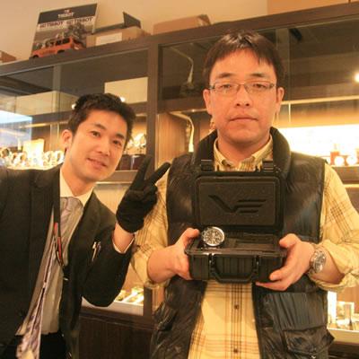 2013年3月 ボストークヨーロッパ アンチャール世界限定 腕時計 8215-5104142をお買い上げいただきました澤谷 快彦様